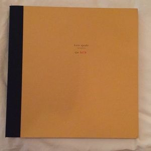 "SIGNED Kate Spade ""Contents"" book"